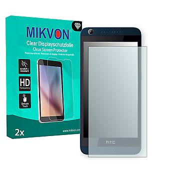 HTC Desire 626G Dual Sim Screen Protector - Mikvon Clear (Retail Package with accessories)