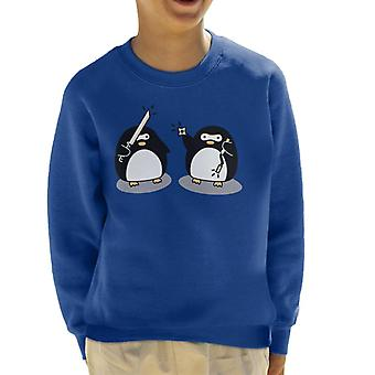 Ninja Pinguine Kinder Sweatshirt