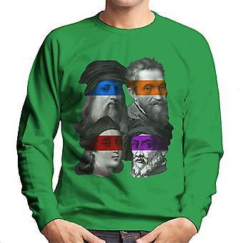 Teenage Mutant Renaissance Men's Sweatshirt