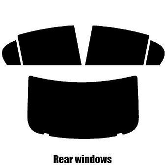 Pre cut window tint - Jaguar XE 4-door Saloon - 2015 and newer - Rear windows
