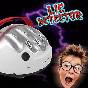 Polygraph Tricky Funny Adjustable Adult Test Micro Electric Shock Lie Detector Shocking Liar Truth Party Game Consoles Toys Gifts