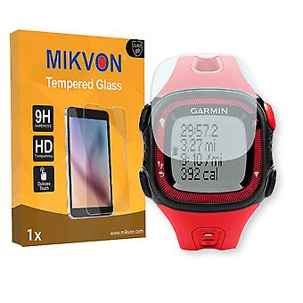 Garmin Forerunner 15 L Screen Protector - Mikvon flexible Tempered Glass 9H (Retail Package with accessories)