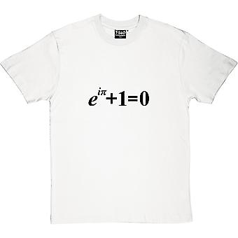 Koszulka męska tożsamość Eulera