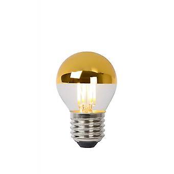 Lucide lâmpada LED bulbo Vintage vidro ouro lâmpada incandescente