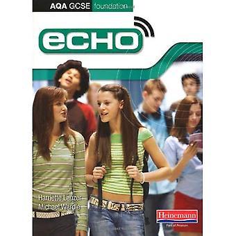 Livre de l'élève Echo AQA GCSE fondation allemande