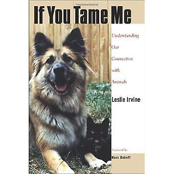 Jos sinä kesyttää minulle: Ymmärtäminen yhteytemme eläimet (eläimet, kulttuuri & yhteiskunta)