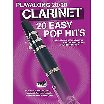 Playalong 20/20 Clarinet (Book and Download Card) (Playlong 2020)