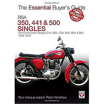 BSA 350, 441 & 500 Singles (série de Guide essentiel de l'acheteur)