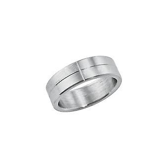 s.Oliver Jewel Herren Ring Edelstahl silber 202425