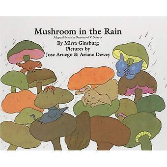 Pilz im Regen