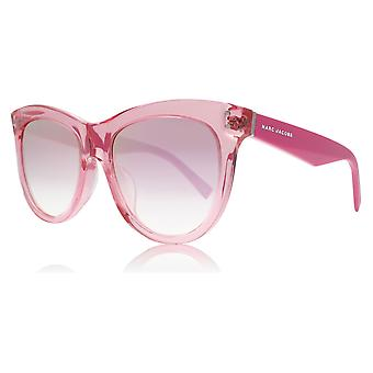 Marc Jacobs Marc 118/S 271 Fuschsia Marc 118/S Cats Eyes Sunglasses Lens Category 2 Lens Mirrored Size 54mm