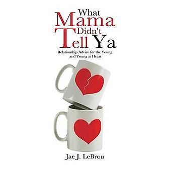 What Mama Didnt Tell YA Relationship Advice for the Young and Young at Heart by Lebrou & Jae J.