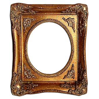 13 x 18 cm or 5 x 7 inch photo frame in gold