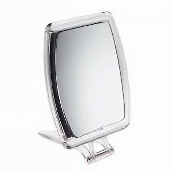 Famego 10x Magnification Acrylic Folding Travel Mirror