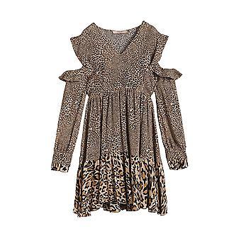 Twin-set Leopard Viscose Dress