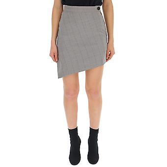 Vivienne Westwood Grey Wool Skirt