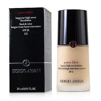 Giorgio Armani Power tyg Longwear hög täckmantel Foundation SPF 25-# 4,75-30ml/1.01 oz