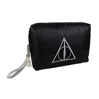 Harry Potter Deathly Hallows shimmer sacchetto di lavaggio
