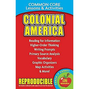 Colonial America - Common Core Lessons & Activities by Carole Marsh -