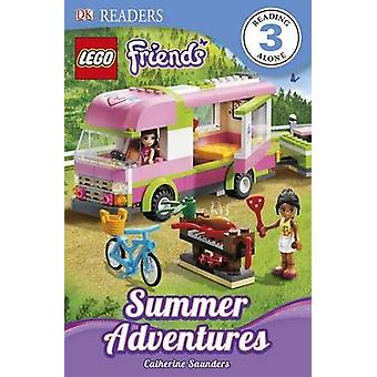 DK Readers L3 - Lego Friends - Summer Adventures by Catherine Saunders