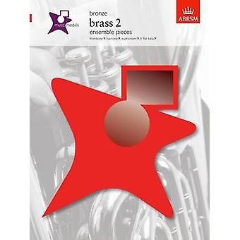 Music Medals Bronze Brass 2 Ensemble Pieces - 9781860966903 Book