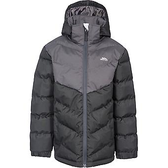 Trespass Boys Luddi Waterproof Windproof Padded Quilted Coat