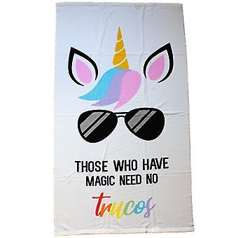 Microfibre bath towels, Those Who Have Magic Need No Trucos