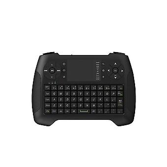 2.4 g wireless 3 colors backlit keyboard with touchpad mouse for android tv box laptop smart tv
