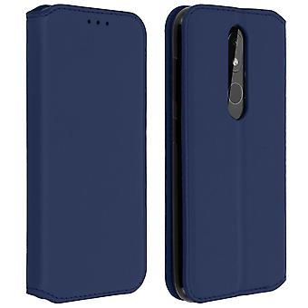Slim Case, Classic Edition stand case with card slot for Nokia 3.2 - Blue