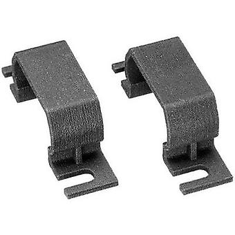 Mounting adapter Adels-Contact AC 166 BC 3 SCHWARZ Black 1 pc(s)