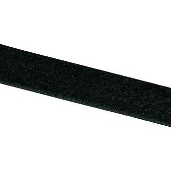 Hook-and-loop tape stick-on Hook pad (L x W) 25000 mm x 20 mm Black VELCRO® brand E00102033011425 25 m