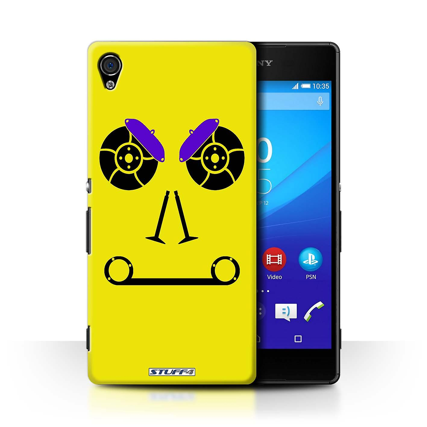 STUFF4 Case/Cover for Sony Xperia Z4v/E6508/Brakes/Yellow/Car Part Faces