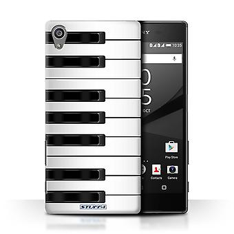 STUFF4 Case/Cover for Sony Xperia Z5/5.2/Piano/Keys/Buttons