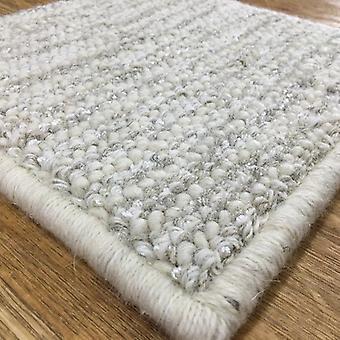 Rugs -Bespoke Wool Silk Loop - Beige/Natural