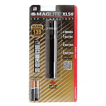 Maglite XL50 Torch (Black)