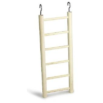 Arquivet Small 6 Sep Wooden Ladder (Birds , Bird Cage Accessories , Perches & Posts)