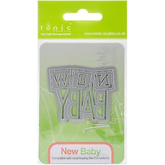 Tonic Studios Miniature Moments Sentiment Die-New Baby 1263E