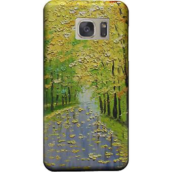 Kleurrijke bomen landschap cover voor Galaxy Note 5