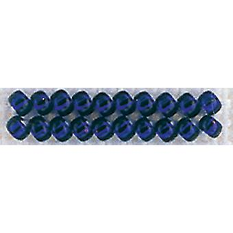 Mill Hill Glass Seed Beads 4.54g-Brilliant Navy** GSB-02090