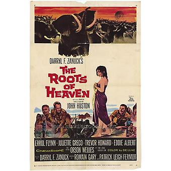 The Roots of Heaven Movie Poster Print (27 x 40)