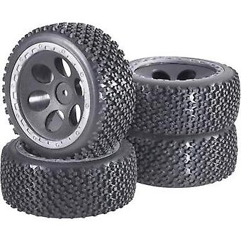 Reely 1:10 Buggy Wheels Rally Round hole design