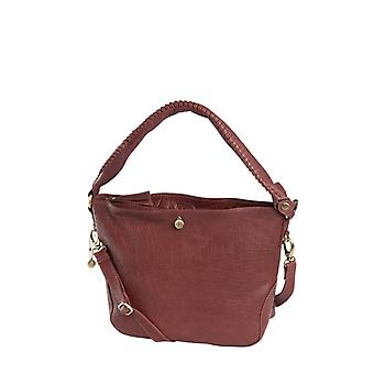 Dr Amsterdam Hand/shoulder bag Grain Dark Red