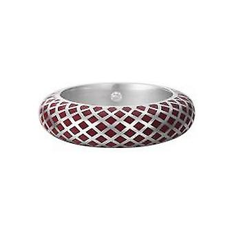 Esprit Damen Ring Silber Lattice Red ESRG91919B1