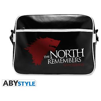 Abysse Game Of Thrones Messenger Bag The North Remembers Vinyl