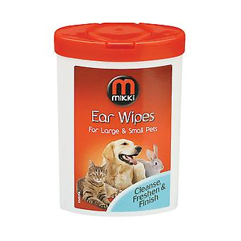 Mikki Ear Wipes Small 17pack (Pack of 12)