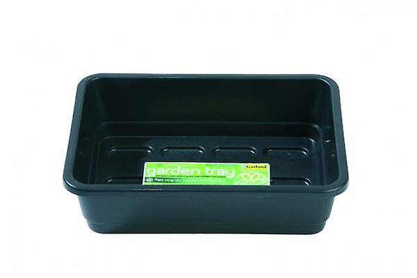 Mini Garden Tray Black Without Holes Planting Gardening