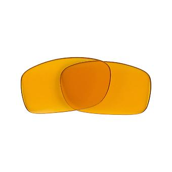 New SEEK Replacement Lenses for Oakley Sunglasses FIVES SQUARED Amber Yellow