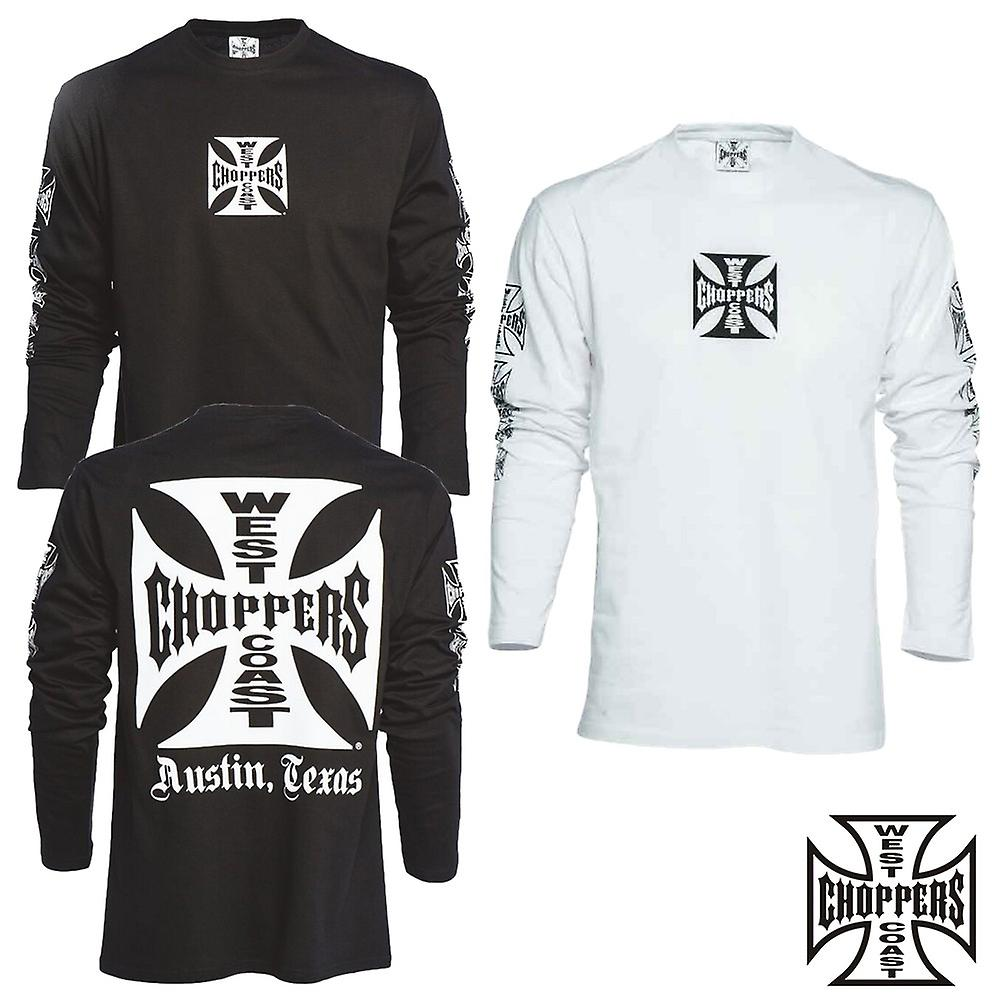 West Coast choppers T-Shirt Longsleeve OG cross