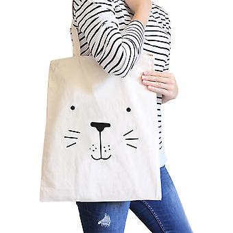 Seal Cute Face Natural Canvas Bags Cute Design Printed Diaper Bags