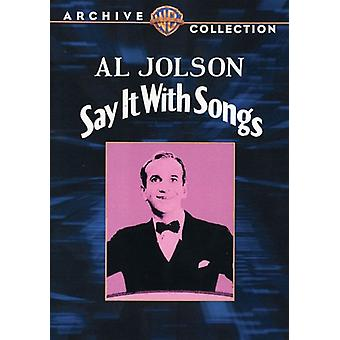 Say It with Songs [DVD] USA import